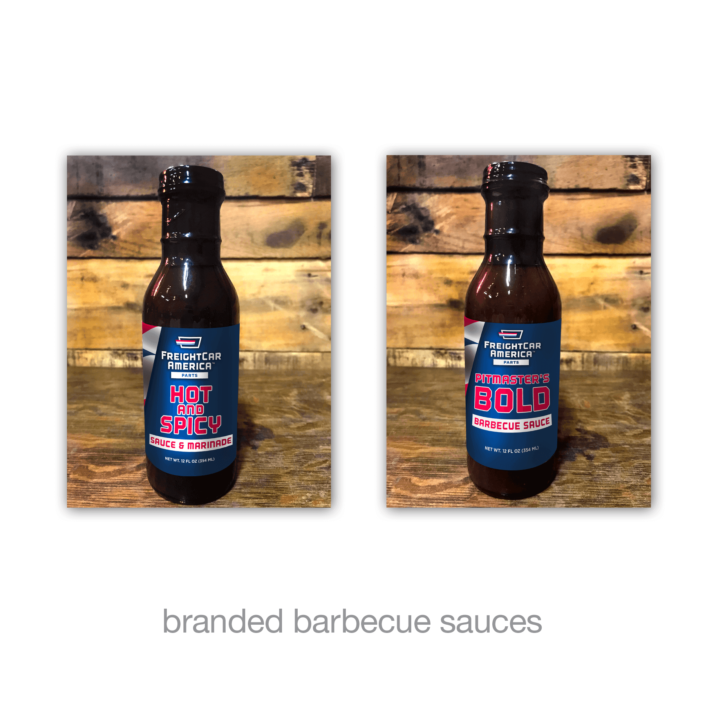 branded barbecue sauces